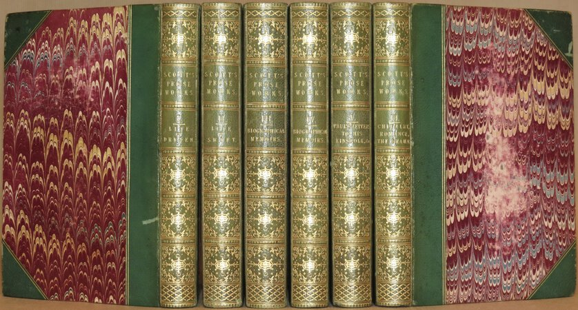 The Miscellaneous Prose Works. ( Comprising: Life of Dryden; Life of Swift; Biographical Memoirs; Paul's Letters to his Kinsfolk; Chivalry, Romance, The Drama ). by SCOTT, Sir Walter