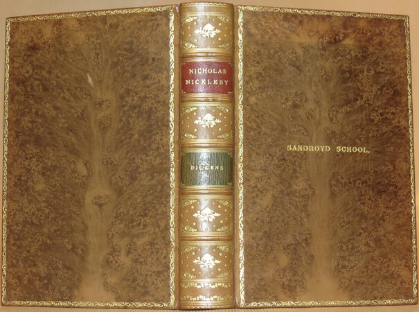 The Life and Adventures of Nicholas Nickleby. by DICKENS, Charles