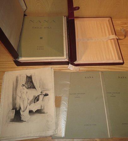 Nana. Illustre de Trente Gravures Originales de Vertès. by ZOLA, Émile. Vertès. William Ablett.