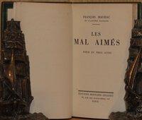 Les Mal Aimes by MAURIAC, Francois