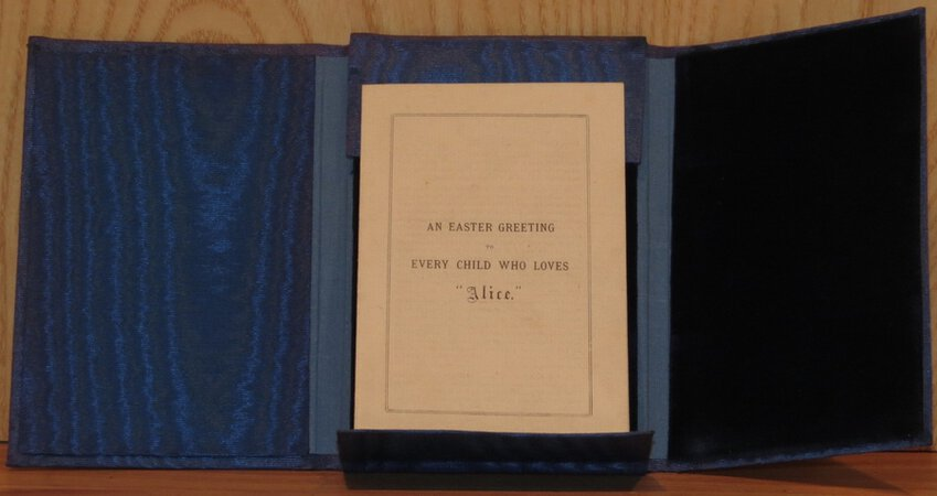 An Easter Greeting to Every Child Who Loves Alice. by CARROLL, Lewis