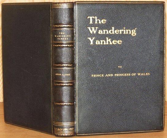 The Wandering Yankee by GARD, Anson A.