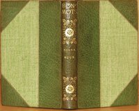 Bon-Mots. by FOOTE, Samuel and HOOK, Theodore
