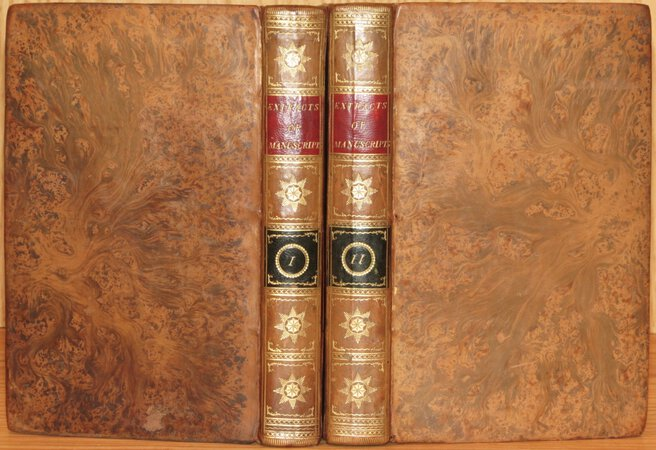 Accounts and Extracts of the Manuscripts in the Library of the King of France. Published under the Inspection of a Committee of the Royal Academy of Sciences at Paris. Translated from the French. by TOOK, William (Translator)
