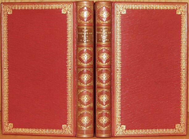 The Essays of Elia; The Last Essays of Elia. by LAMB, Charles