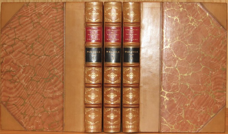 Anecdotes of Painting in England. by WALPOLE, Horace