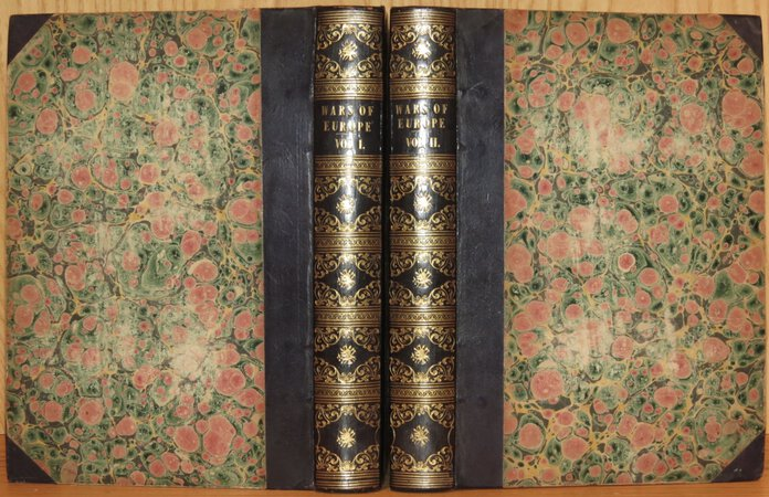 The Wars of Europe; or, annals of military and naval warfare. Handsomely illustrated, with effective engravings on wood and steel, with portraits and memoirs of distinguished sailors and soldiers, and plans of celebrated battle fields; enlivened with a variety of entertaining and historical anecdotes. by SOLDIER, A (edited by)