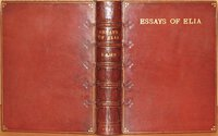 Essays of Elia. by LAMB, Charles