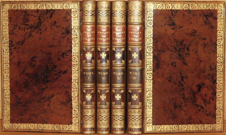 Les Amours du Chevalier de Faublas. by LOUVET DE COUVRAY, Jean-Baptiste