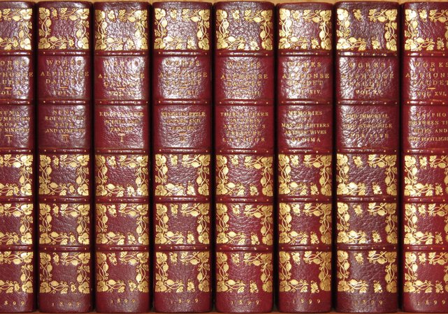 The Works. Edition De Luxe. by DAUDET, Alphonse