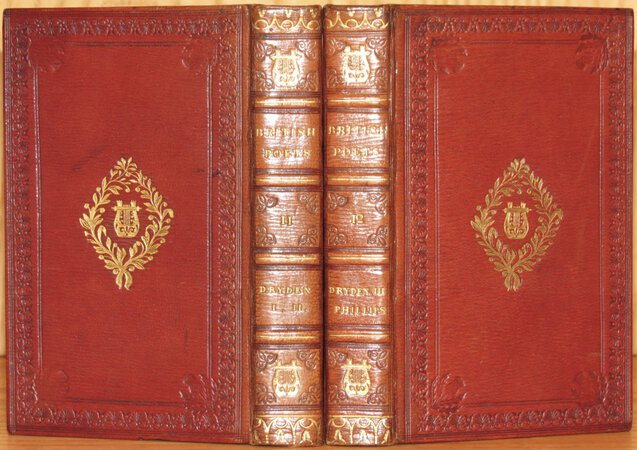 The Poetical Works. (Bound together with) PHILIPS, John by DRYDEN, John