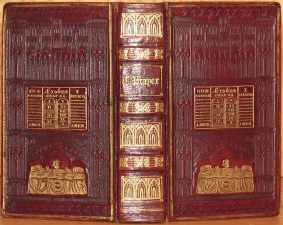 The Book of Common Prayer. (BOUND WITH) The Psalms of David. by PRAYER