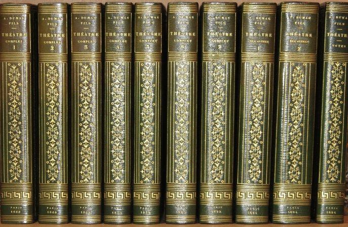 Théatre Complet; Théatre des Autres; Théatre Notes. by DUMAS Fils, Alexandre