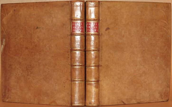 A Commentary on The Book of Psalms. by HORNE, George