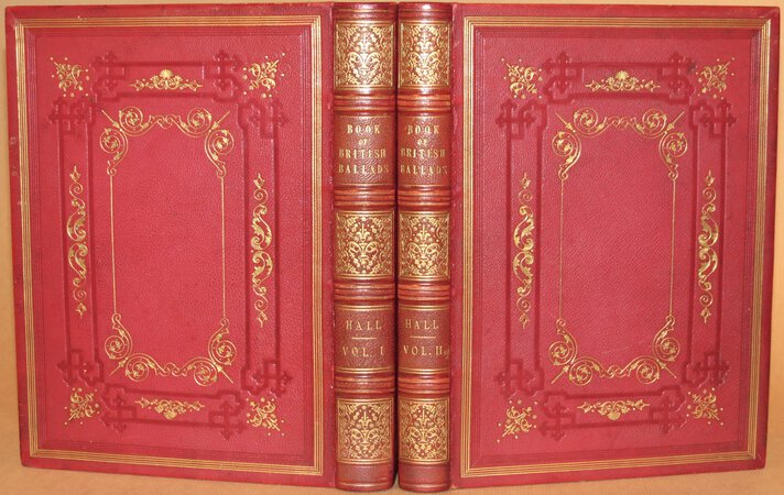 The Book of British Ballads. by HALL. C.S. (editor)