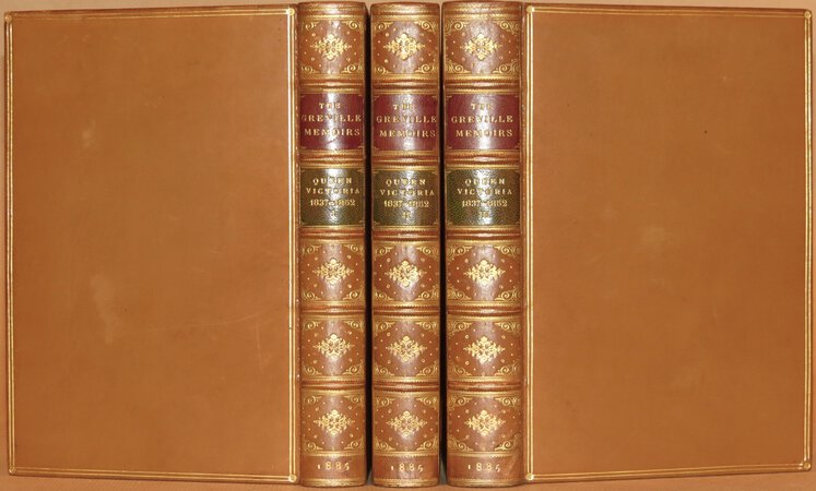 A Journal of the Reign of Queen Victoria from 1837 to 1852 by GREVILLE, Charles C.F.