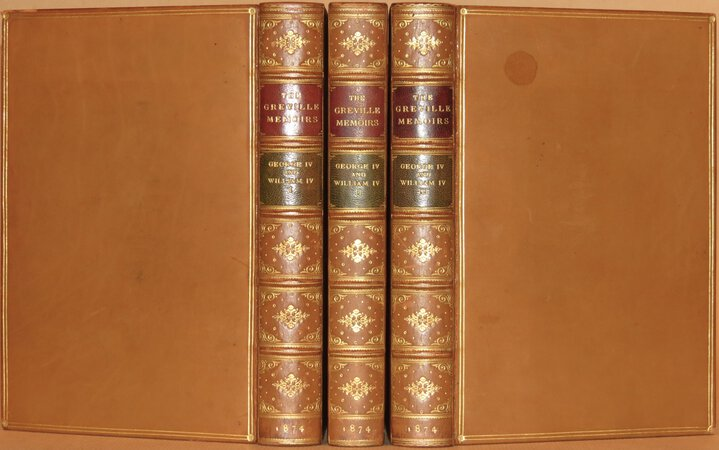 A Journal of the Reigns of King George IV and King William IV. by GREVILLE, Charles C.F.