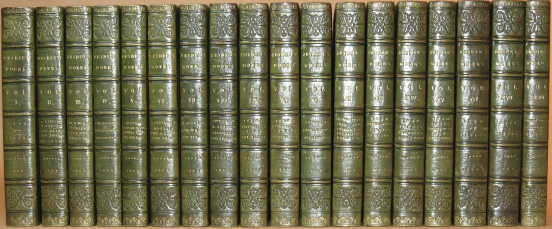 The Works of John Dryden. by DRYDEN, John