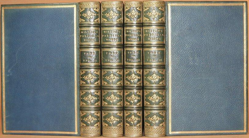 The Poetical Works of John Milton. by MILTON, John