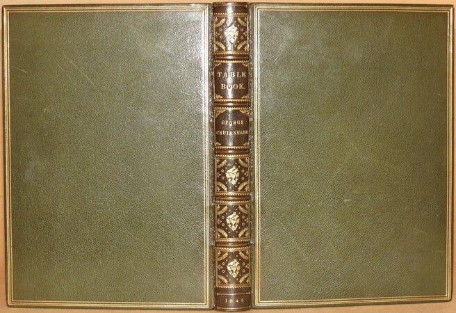 George Cruikshank's Table-Book. by A'BECKETT, Gilbert Abbott (editor), CRUIKSHANK, George (Illustrator)