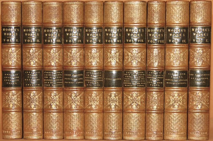 The Poetical Works. by MOORE, Thomas