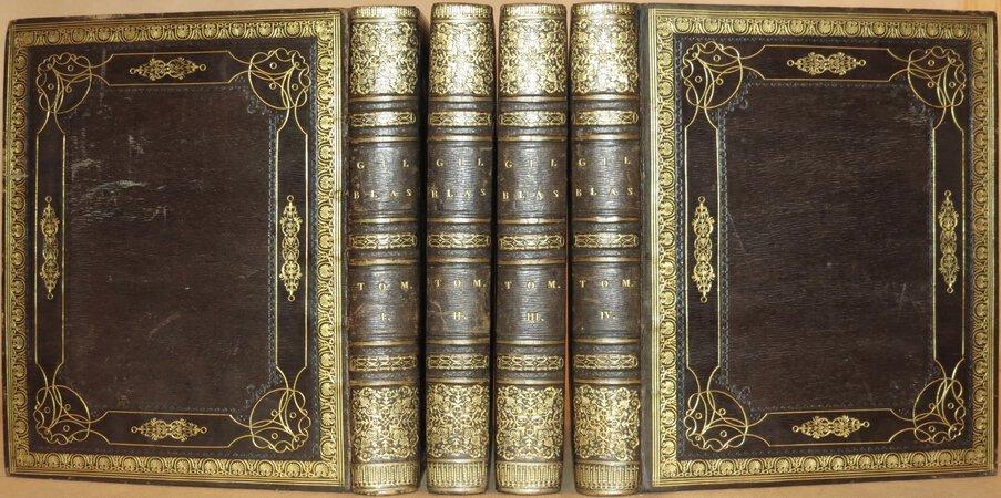 Histoire de Gil Blas de Santillane. by LESAGE, Alain-René