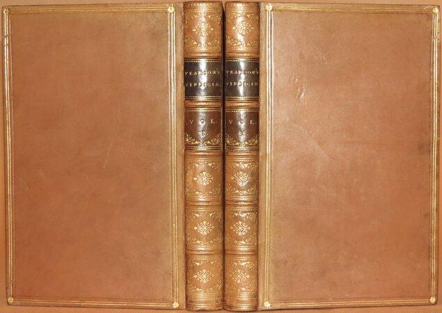 Vindiciae Epistolarum S. Ignatii. by PEARSON, Joanne