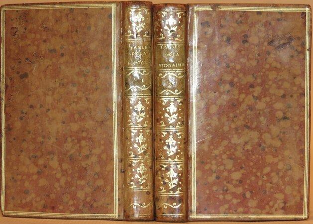 Fables Choisies, mises en vers par M. de La Fontaine. by LA FONTAINE