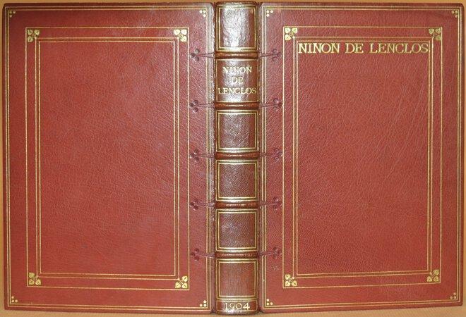 Ninon de Lenclos. by LENCLOS, Anne de