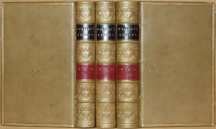 Essays, selected from Contributions to the Edinburgh Review. by ROGERS, Henry