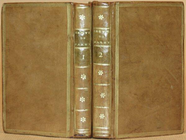 Opuscules. by PARNY, Chevalier de