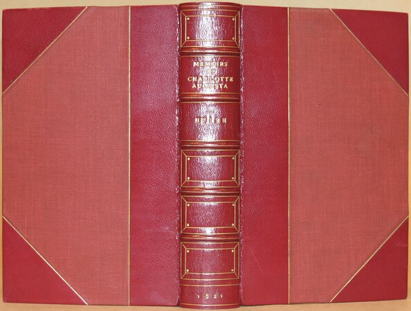 Memoirs of her late Royal Highness Charlotte Augusta. (Bound with) A Sacred Memorial of Her late Royal Highness Charlotte Augusta, Princess of Wales. by HUISH, Robert