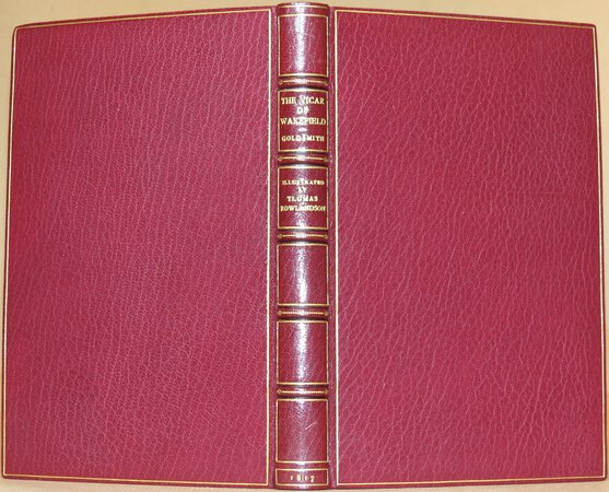 The Vicar of Wakefield. by GOLDSMITH, Oliver