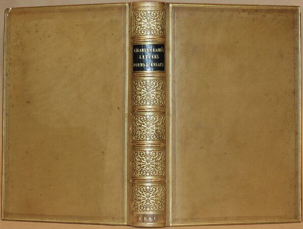 The Letters of Charles Lamb. by LAMB, Charles