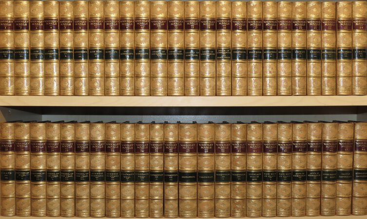 Waverley Novels. by SCOTT, Sir Walter