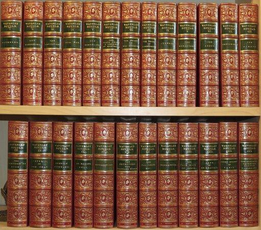 The Waverley Novels. by SCOTT, Sir Walter