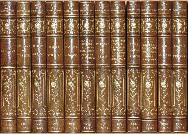 The Works. by MAUPASSANT, Henri Rene Guy de