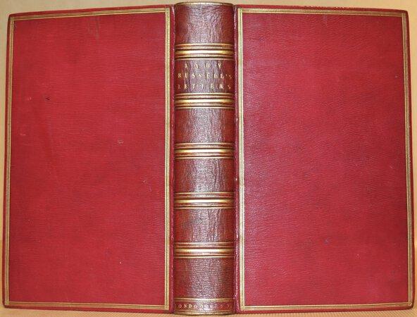 Letters of Lady Rachel Russell. by RUSSELL, Lady Rachel