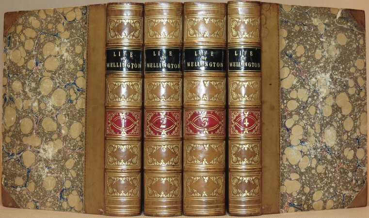 Life and Campaigns of Arthur, Duke of Wellington, K.G.. by WRIGHT, G.N.