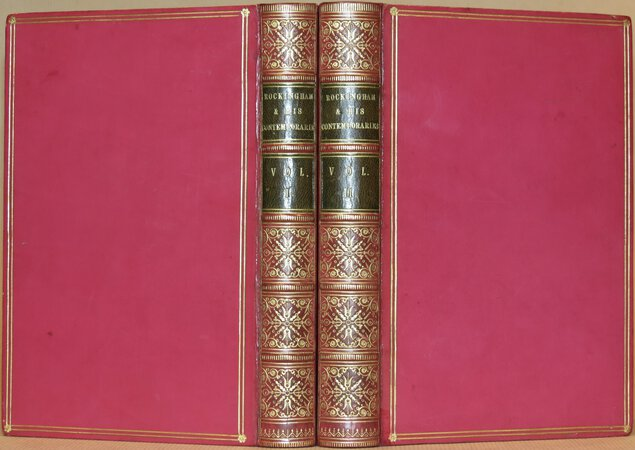 Memoirs of the Marquis of Rockingham and his Contemporaries. by ALBERMARLE, George Thomas, Earl of