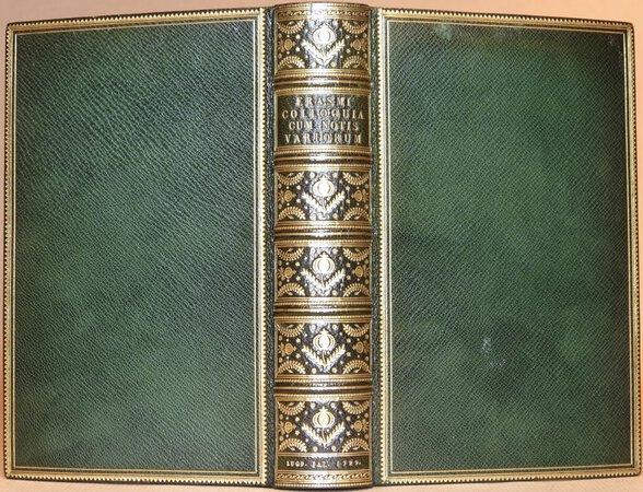 Colloquia cum Notis Selectis Variorum. Addito Indice Novo by ERASMUS (Desiderius Erasmus Roterodamus)