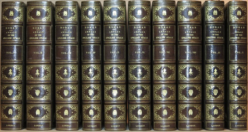 Annals of The English Stage. by Doran, John