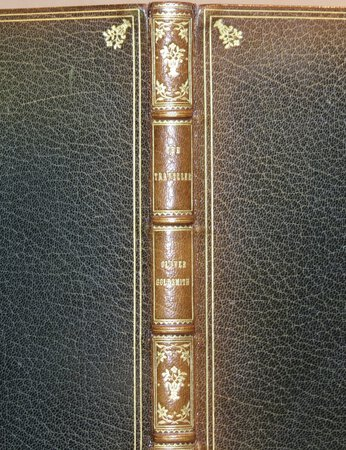 The Traveller. by GOLDSMITH, Oliver