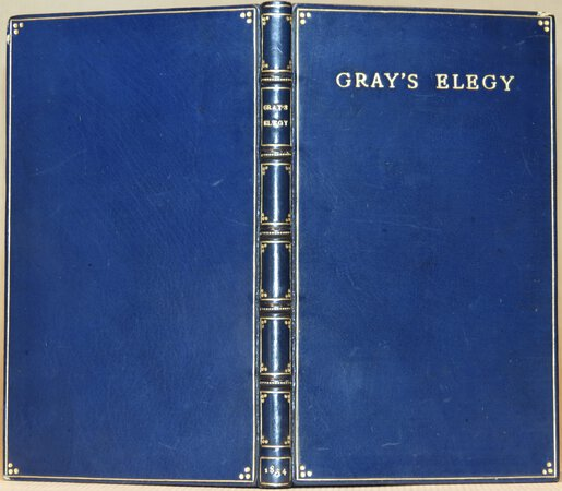 Elegy written in a Country Church-Yard. by GRAY, Thomas