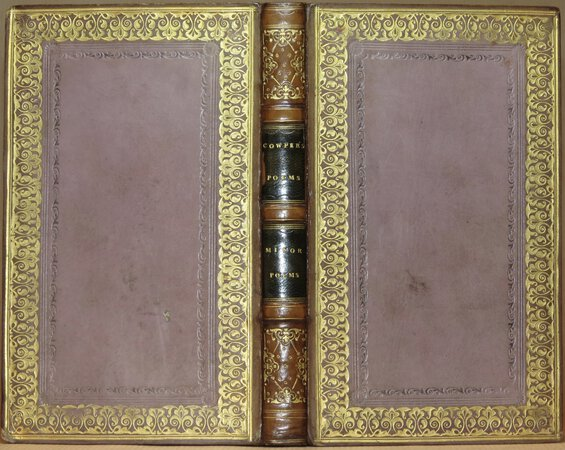 The Minor Poems of William Cowper. by COWPER, William