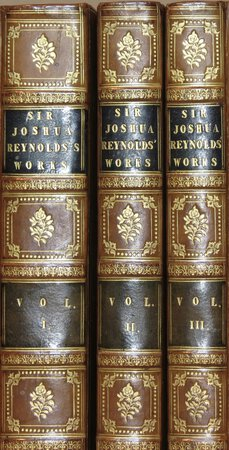 The Literary Works of Sir Joshua Reynolds. by REYNOLDS, Sir Joshua