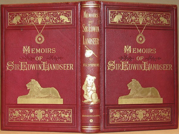 Memoirs of Sir Edwin Landseer. by STEPHENS, F(rederic) G.