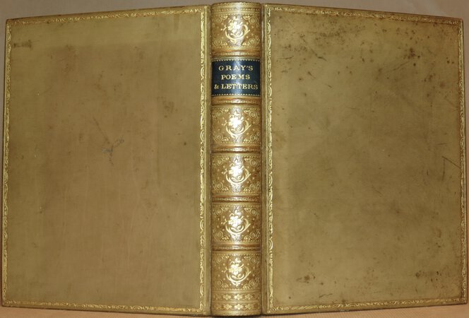 Poems and Letters by Thomas Gray. by GRAY, Thomas