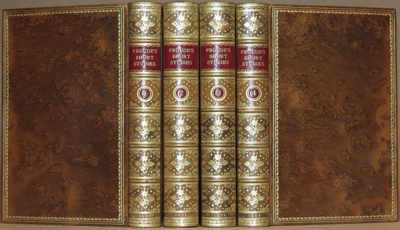 FROUDE, James Anthony: Short Studies on Great Subjects.