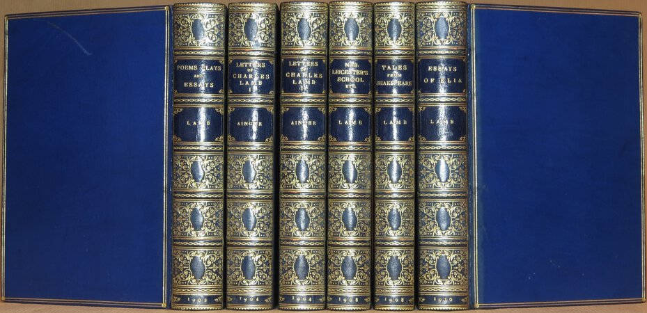 Works of Charles Lamb. Comprising: Tales from Shakespeare; Poems and Plays; Letters of Charles Lamb; Mrs. Leicester's School; Essays of Elia. by LAMB, Charles
